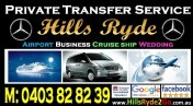 Hills Ryde Private Transfer Service